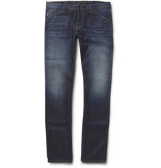 Gucci Washed Slim-Fit Denim Jeans