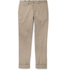 Gucci Slim-Fit Cotton-Blend Trousers
