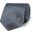Gucci - Patterned Woven-Silk Tie