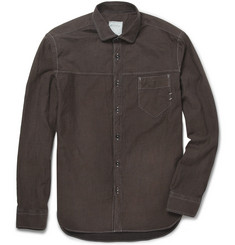 Billy Reid Courtland Slim-Fit Cotton-Twill Shirt
