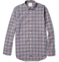 Billy Reid John T Check Cotton Shirt
