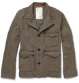 Billy Reid Stable Herringbone Cotton Jacket