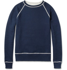 Billy Reid Reversible Cotton Sweatshirt