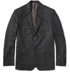 Billy Reid Rustin Prince of Wales Check Wool Blazer