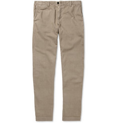 Billy Reid Jack Selvedge Cotton-Twill Trousers