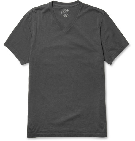 J.Crew Cotton-Jersey V-Neck T-Shirt