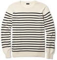 J.Crew Ustica Striped Cotton Sweater