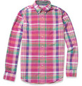 J.Crew - Donahue Madras-Check Cotton Shirt