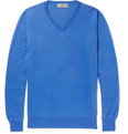 Canali - V-Neck Cotton Sweater