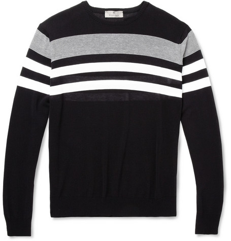 Canali Fine-Knit Cotton Sweater