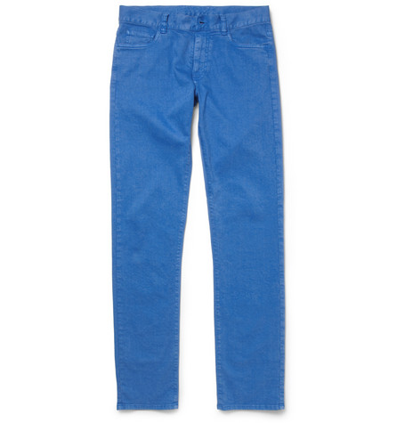 Canali Straight-Fit Denim Jeans