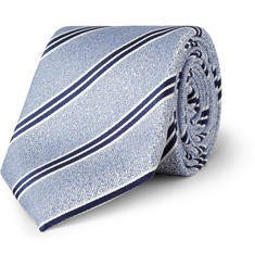 Canali Striped Silk Tie