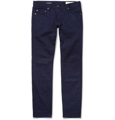 Rag & bone Slim-Fit Overdyed Denim Jeans