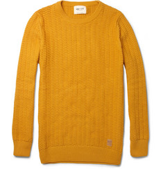 NN.07 Miho Textured-Cotton Sweater