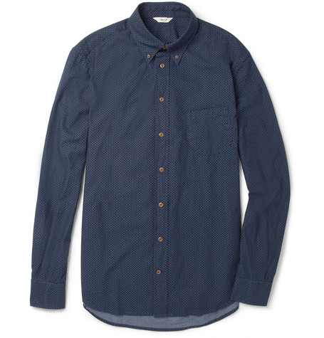 NN.07 Chivas Printed Cotton Shirt