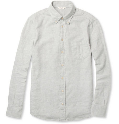 NN.07 Chivas Cotton-Flannel Shirt