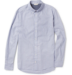 NN.07 Chivas Striped Cotton Oxford Shirt