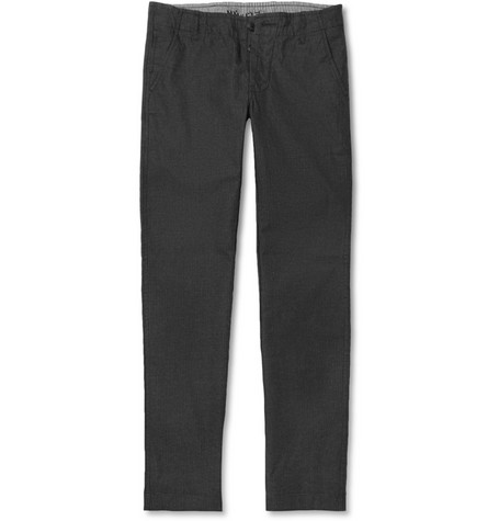 NN.07 Simon Slim-Fit Pinstripe Cotton Trousers