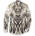 Alexander McQueen - Palm-Print Cotton Shirt