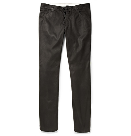 Alexander McQueen Sprayed Denim Jeans