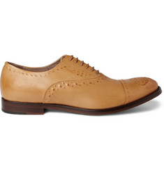 Alexander McQueen Leather Oxford Shoes