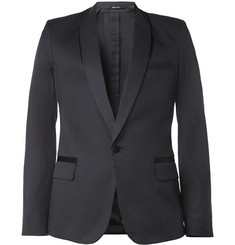 Maison Martin Margiela Slim-Fit Shadow-Effect Tuxedo Blazer