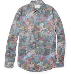 Maison Martin Margiela Dot-Print Cotton Shirt