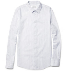 Maison Martin Margiela Stripe-Print Cotton Shirt