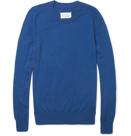Maison Martin Margiela Knitted Cotton Sweater