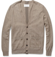 Maison Martin Margiela Cotton and Wool-Blend Cardigan