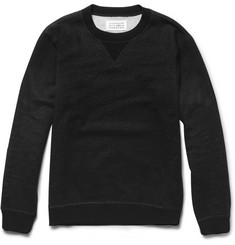 Maison Martin Margiela Elbow Patch Cotton-Jersey Sweatshirt