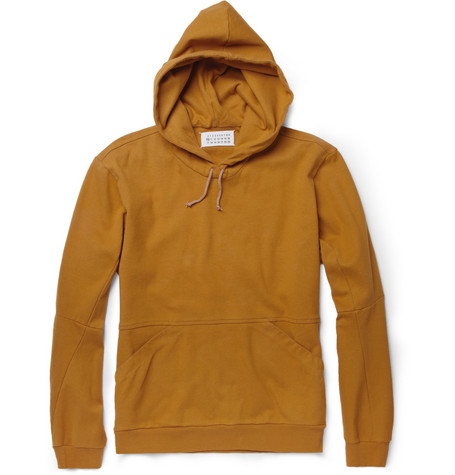 Maison Martin Margiela Anatomic Cotton-Blend Hoodie