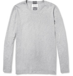 Maison Martin Margiela Long-Sleeved Cotton-Jersey T-Shirt