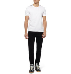 Maison Martin Margiela Shoulder-Insert Cotton-Jersey T-Shirt