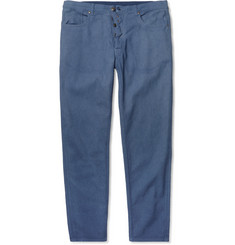 Maison Martin Margiela Garment-Dyed Straight-Fit Denim Jeans