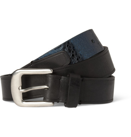 Maison Martin Margiela Two-Tone Leather Belt