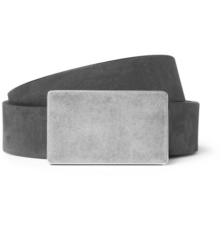 Maison Martin Margiela Washed-Leather Belt