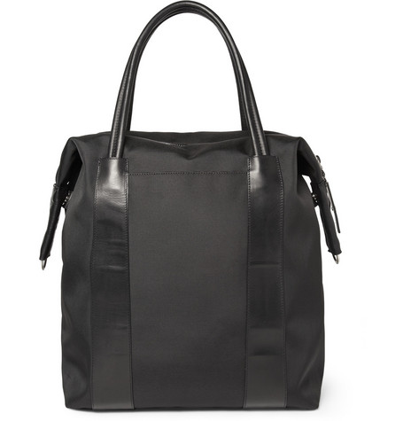 Maison Martin Margiela Leather-Trimmed Tote