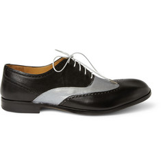 Maison Martin Margiela Painted Leather Wingtip Brogues
