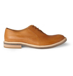 Maison Martin Margiela Clear-Sole Leather Oxford Shoes