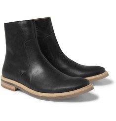Maison Martin Margiela Clear-Sole Leather Boots