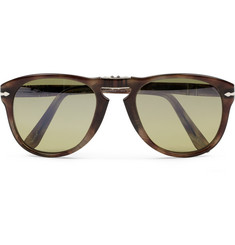 Persol Foldable 714 Polarised Acetate Sunglasses