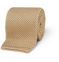 Brioni - Flecked Knitted Silk Tie