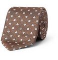 Brioni - Floral-Patterned Silk-Twill Tie
