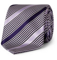 Brioni - Woven-Check and Striped Silk Tie