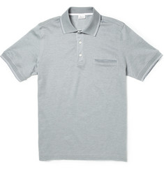 Brioni Cotton-Piqué Polo Shirt