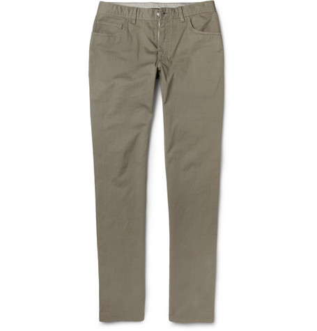 Brioni Slim-Fit Lightweight Denim Jeans