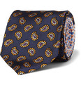 Etro - Patterned Woven-Silk Tie