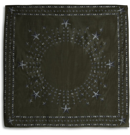 Givenchy Printed Cotton-Blend Scarf