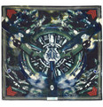 Givenchy - Airplane-Print Cotton-Blend Scarf